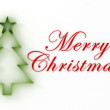 3d Christmas tree, Merry Christmas ! — Stockfoto #12355605