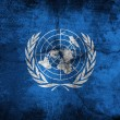 Stock Photo: UN flag