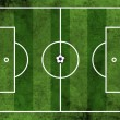 ������, ������: Football or soccer field with ball