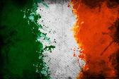 Irish flag — Stock Photo