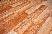 Houten gelamineerde vloer — Stockfoto