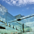 Modern office building detail — Stock Photo #11296372