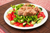 Tuna salad — Stock Photo