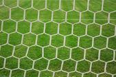 Rede de futebol — Fotografia Stock
