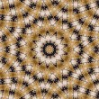 Abstract kaleidoscope background - Foto Stock