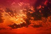 Atardecer cloudscape — Foto de Stock