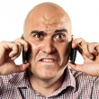 Stressed communication — Stock Photo #11976034