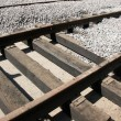 Laying tram tracks — Stockfoto
