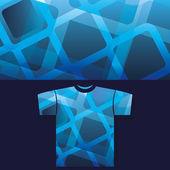 Impressão de t-shirt — Vetor de Stock