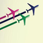 Airplanes — Stok Vektör