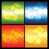 4 Abstract Background Vectors — Vecteur