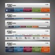 Stockvector : Web Design Elements - Header Designs
