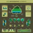 Stock Vector: vector set of infographic elements