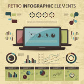 Vector set of infographic elements — Vetorial Stock