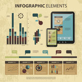 Vector set of infographic elements — Stockvector