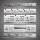 Web Design Elements — Vettoriale Stock