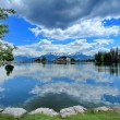 Crans-Montana, Switzerland - Stock Photo