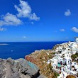 Oia, Greece, landscape — Stock Photo