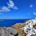 Oia, Greece, landscape — Stock Photo #11121788