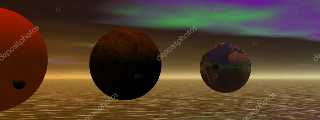 Planets and world and sky — Stock Photo #11234841