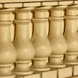 Stock Photo: Column brown and white