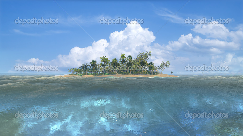 Caribbean paradise  — Stock Photo #11202149