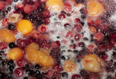 Сompote made ​​from fresh berries — Stockfoto