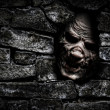 Постер, плакат: Monster behind the wall