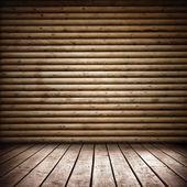 Camera in legno — Foto Stock