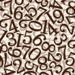 Stock Photo: Abstract numbers