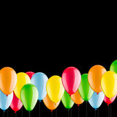 Beaucoup de ballons colorés — Photo