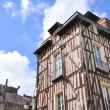 Timbered building — Stock Photo