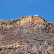 Stock Photo: Fortification on mountain