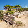 Stock Photo: Fortification of Fortezza