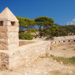 Walls of castle Fortezza — Stock Photo #10944435
