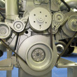Stock Photo: Motor of power truck