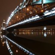 Stock Photo: Under Great Piter bridge