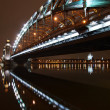 图库照片: Under Great Piter bridge