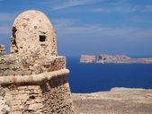 Fortificazione e mare — Foto Stock
