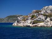 La costa rocciosa di kekovo, parte terza — Foto Stock