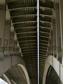 Steel bridge — Stockfoto