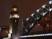 Torre da ponte grande piter — Foto Stock