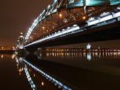Sotto il ponte grande piter — Foto Stock