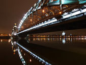 Under Great Piter bridge — 图库照片