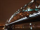 Perspektif içinde büyük piter köprüsü — Stok fotoğraf