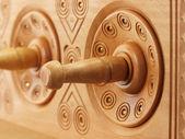 Comptoir en bois — Photo