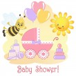 Baby Shower card. — Stock Vector #11362223