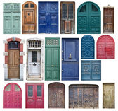 Old wooden doors — Stock Photo