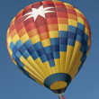 hot luft ballong — Stockfoto