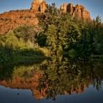 Cathedral Rock, Sedona, Arizona — Stock Photo